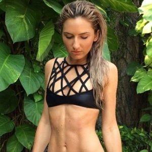 NEW with TAG! Nasty Gal Caged Bikini top